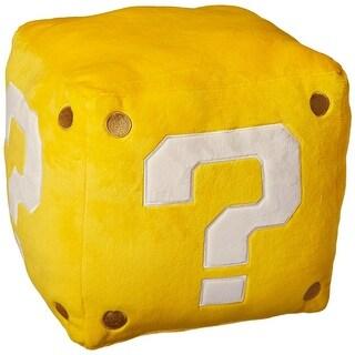 "Super Mario Bros. 10"" Large Pillow Plush: Coin Box - multi"