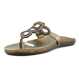 Kenneth Cole Reaction Glam Me Up Women Open Toe Synthetic Thong Sandal