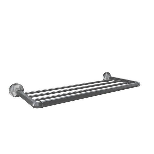 Volkano V2714 Magma Towel Shelf - Brushed Nickel - Free Shipping ...