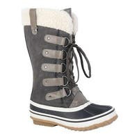 Portland Boot Company Women's Duck Duck Tall Snow Boot Dark Grey