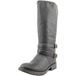 Steve Madden Dilln Round Toe Synthetic Western Boot