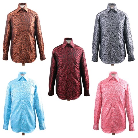 Men's Fashion Forward Formal Shirt