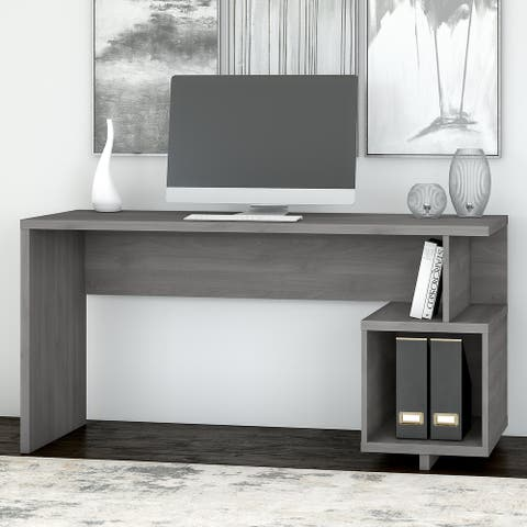 Madison Avenue 60W Writing Desk with Storage from kathy ireland® Home