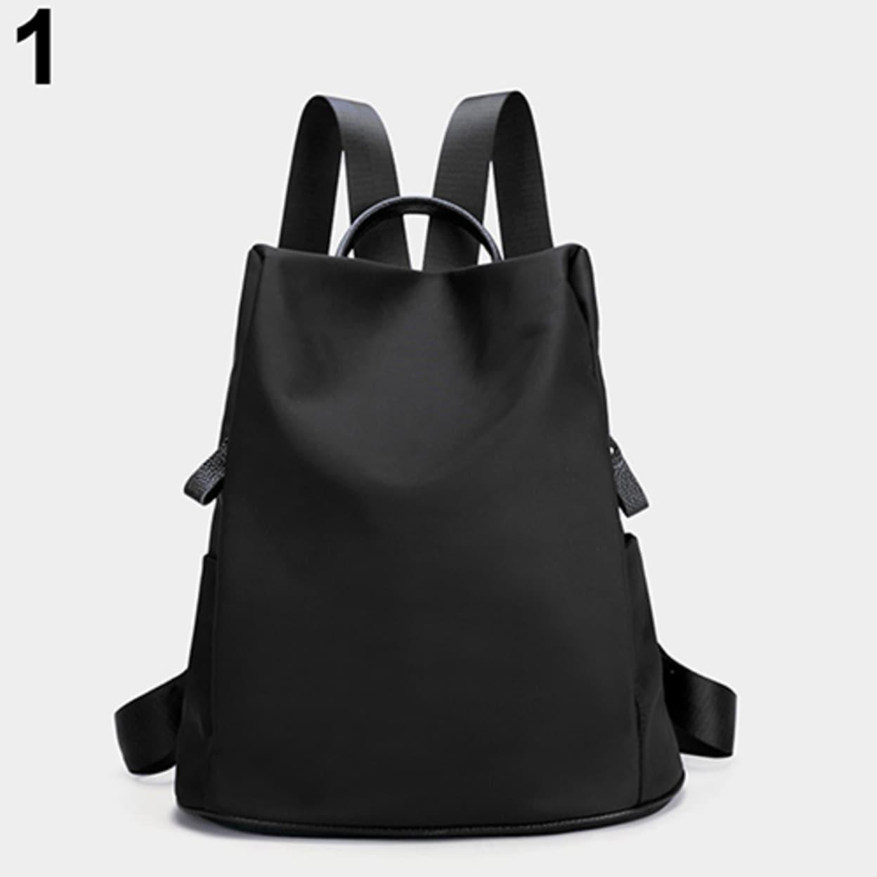 Women S Waterproof Lightweight Nylon Bookbag Backpack Agers School Bag