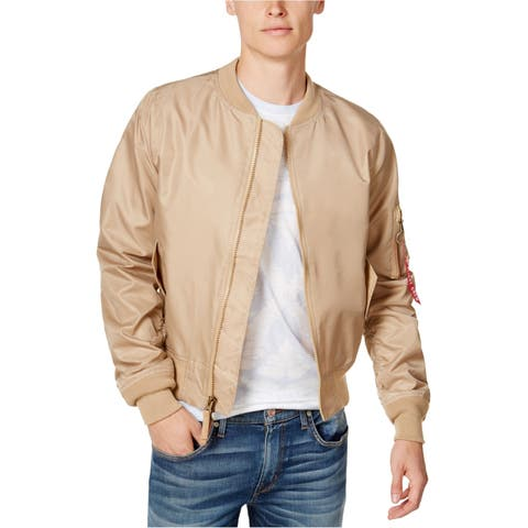 Ring Of Fire Mens Fly Weight Bomber Jacket