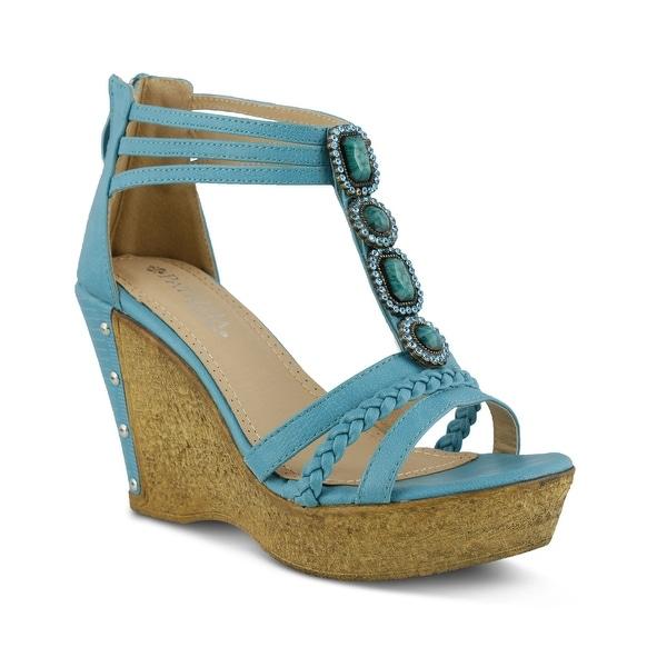 PATRIZIA Womens article Open Toe Ankle Strap Classic Pumps - 7