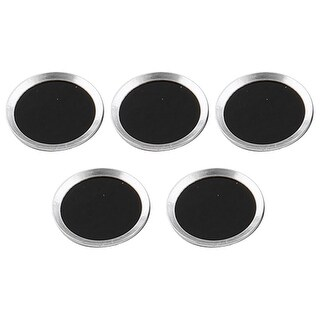Round Shape Phone Home Button Sticker Protector 5 PCS # 3 for iPad iPhone