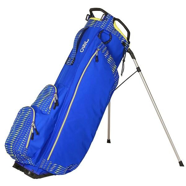 Ouulite stand bag Royal blue/Lime yellow