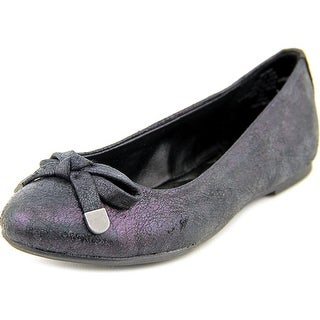 Mia Kids Adalyn Youth Round Toe Canvas Ballet Flats
