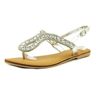 Not Rated Dragonfly Open Toe Leather Thong Sandal