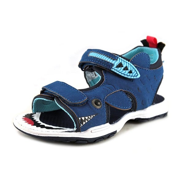 Carter's Shark 2 Toddler Open-Toe Canvas Blue Sport Sandal