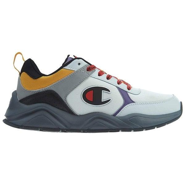 Champion Mens 93 Eighteen Block Sneaker