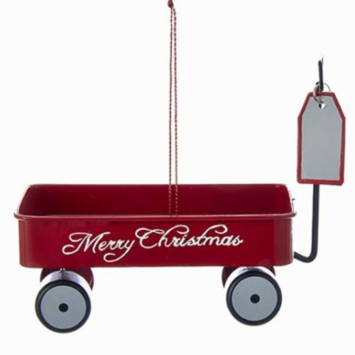 Merry Christmas Red Wagon