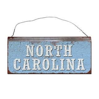 University of North Carolina Tar Heels Small Tin Sign