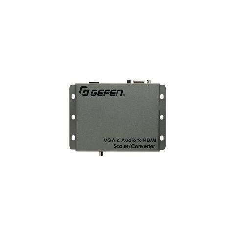 Gefen EXT-VGAA-HD-SC Gefen VGA & Audio to HD Scaler / Converter - Functions: Video Scaling - 1920 x 1200 - VGA - USB - Audio