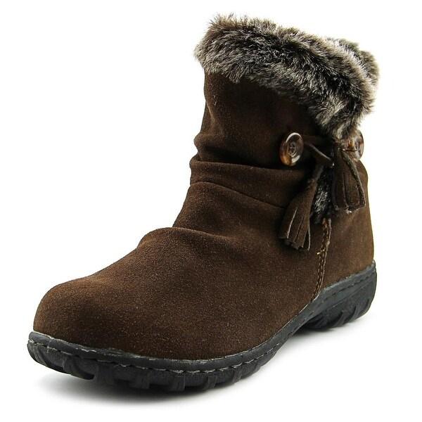 Khombu Isabella Women Round Toe Suede Brown Winter Boot
