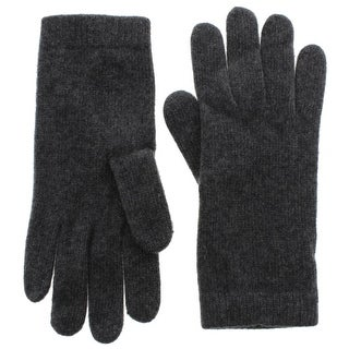 Portolano Womens Winter Gloves 100% Cashmere Classic - o/s
