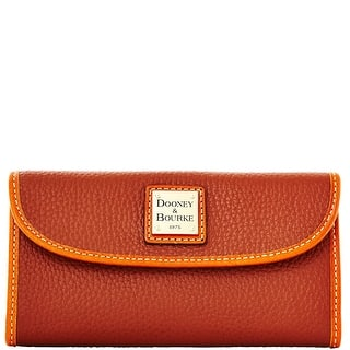 Dooney & Bourke Pebble Grain Continental Clutch (Introduced by Dooney & Bourke at $128 in Jul 2014)|https://ak1.ostkcdn.com/images/products/is/images/direct/fc61e669f7665637075df209898580516f15b13e/Dooney-%26-Bourke-Pebble-Grain-Continental-Clutch-%28Introduced-by-Dooney-%26-Bourke-at-%24128-in-Jul-2014%29.jpg?impolicy=medium