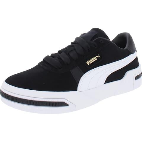 Puma Womens Cali Taped Wn's Fashion Sneakers Leather Padded Insole - 6.5 Medium (B,M)