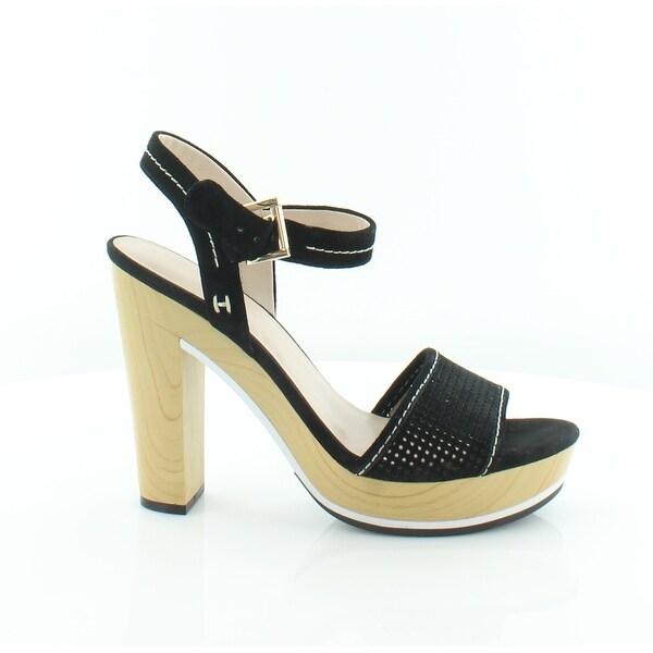 Tommy Hilfiger Weslee Women's Heels Beige/Black - 9