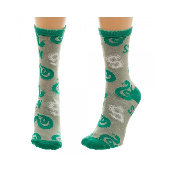 Harry Potter Slytherin Jrs Crew Socks