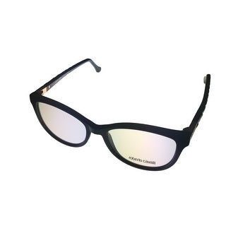Roberto Cavalli Womens Opthalmic Frame Modified Black Cateye Plastic RC 752  - Medium