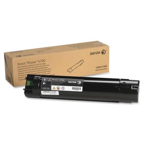 Xerox 106r01506 std cap toner black phaser 6700