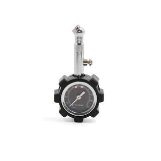 Portable 0-7kg/cm 2 Dial Tire Gauge for Auto Car Vehicle Black