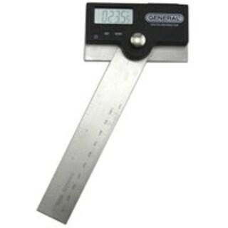 """General Tools 1702 Pivoting Arm Digital Protractor, 6"""""""