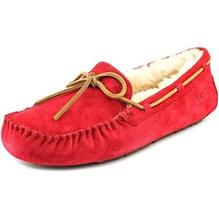 Ugg Australia Dakota Women  Moc Toe Suede Red Slipper