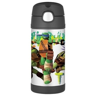 Thermos TMNT Ninja Straw Bottle
