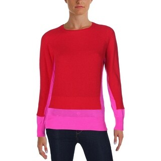 Marc by Marc Jacobs Womens Bella Crewneck Sweater Cashmere Colorblock