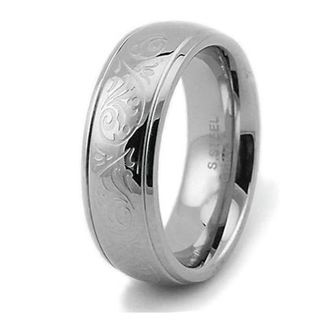 fb5b4e7850 Stainless Steel Rings | Find Great Jewelry Deals Shopping at Overstock