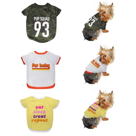39d36f6cc8ab Pets First LaurDIY Tee Shirt for Dogs and Cats