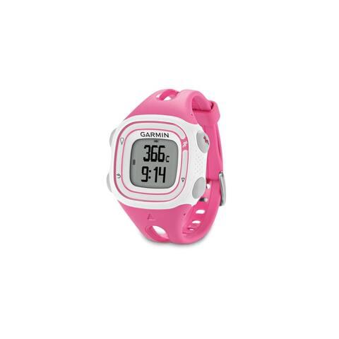 Garmin Forerunner 10 Pink & White GPS Running Watch - Multicolor