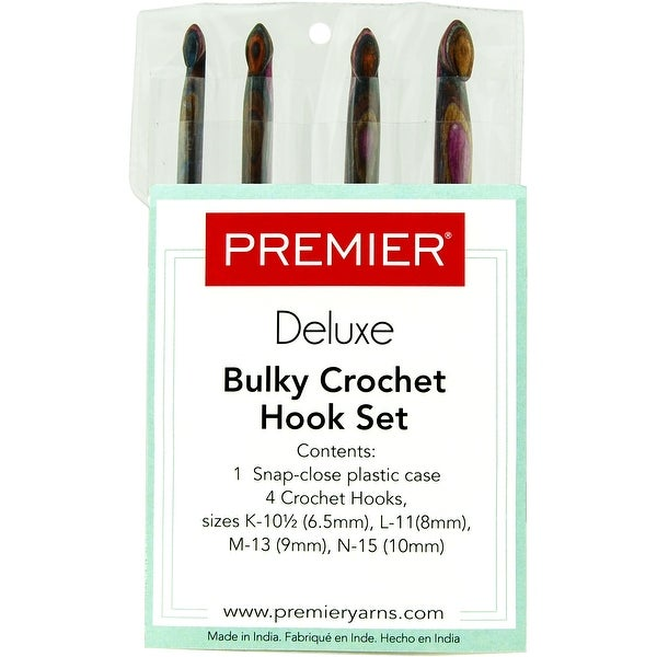 Shop Premier Yarns Crochet Hook Bulky Set 4pkg Hook Sizes K105