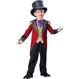 InCharacter Ringmaster Toddler Costume - Red