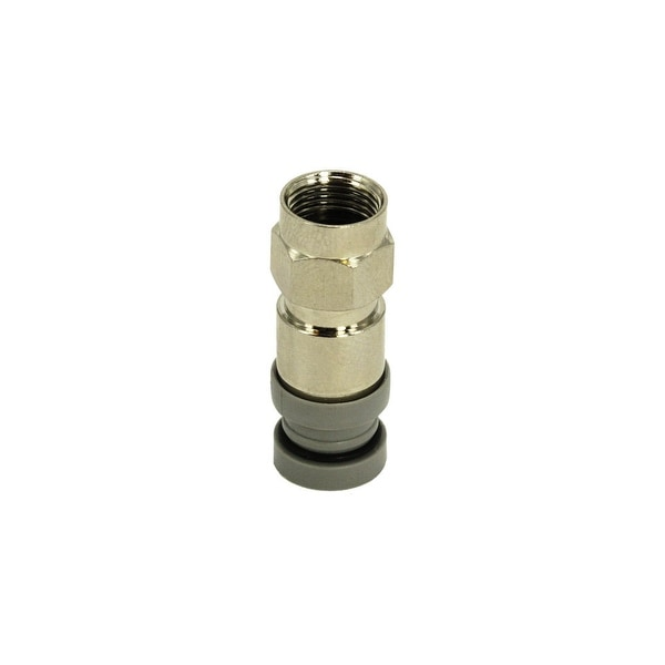 RG6 Compression F Connector, Copper