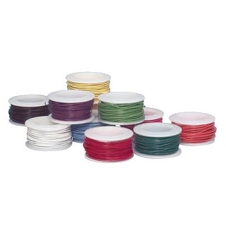 Sax Colored Art Wire, 30 Gauge, Assorted Colors, Pack of 10
