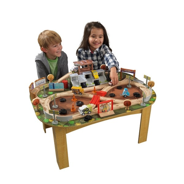 KidKraft: Thunder Hollow Track Set & Table