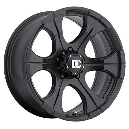 "Dick Cepek DC Blackout Wheel with Matte Black Finish (15x8""/"