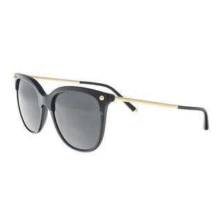 Dolce & Gabbana DG4333 501/87 Black Square Sunglasses - 55-18-140