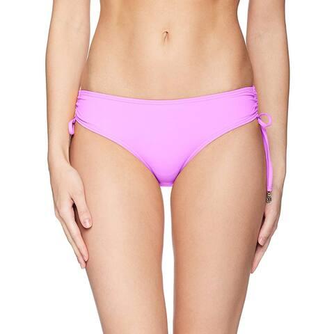Anne Cole Women's Solid Side Tie Adjustable Bikini Swim Bottom