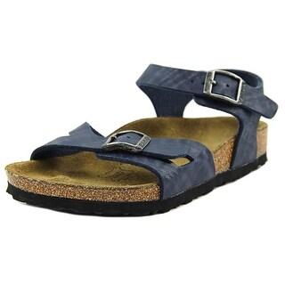 Birki's Tuvalu N Open-Toe Synthetic Slingback Sandal (Option: 13)