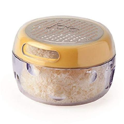 Joie Cheese / Nut Grater Storage Container - Grate, Sprinkle & Store All In One