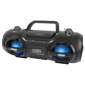 Naxa NAXNPB258B MP3/CD Party Boom Box & USB/SD Card Player