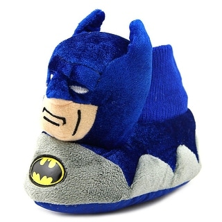 DC Comics Batman Booties Youth Round Toe Canvas Slipper
