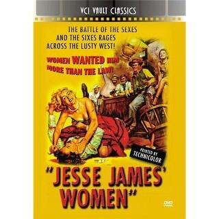 Jesse James Women DVD Movie 1954