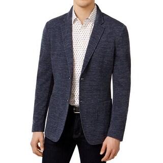 Michael Kors NEW Midnight Blue Mens Size XL Two Button Sport Coat
