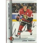 Wade Redden Ottawa Senators 2000 In The Game Be A Player Autographed Card This item comes with a c